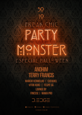 FREAK CHIC PARTY MONSTER SPECIAL HALLOWEEN
