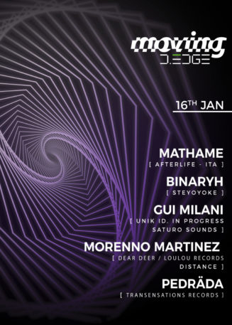 Moving D-Edge pres.: Mathame [AFTERLIFE / ITALY] & Guests