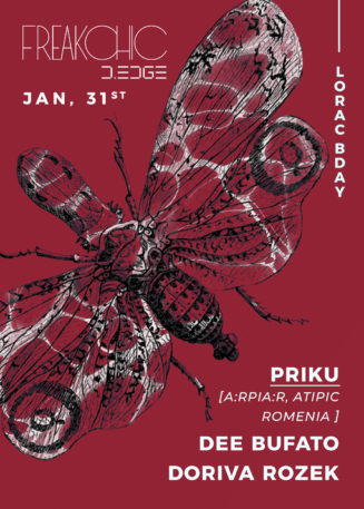 Freak Chic presents PRIKU, Dee Bufato, Doriva Rozek